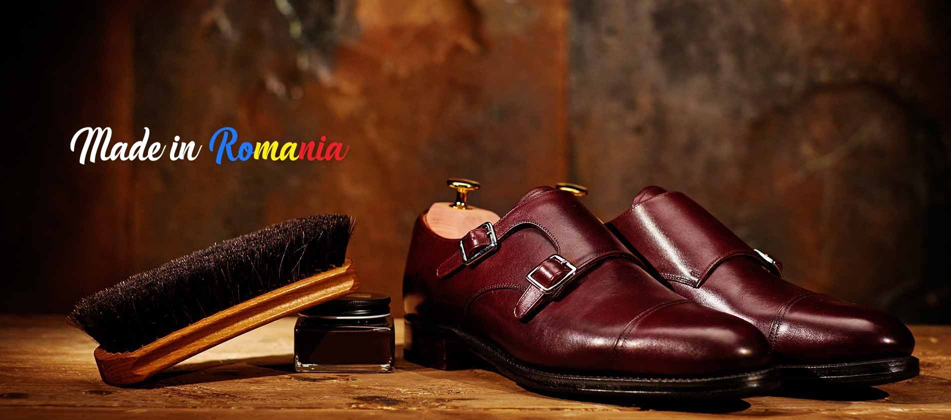 natural leather shoes produced in romania